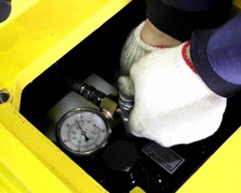 Заправка гидромолотов азотом